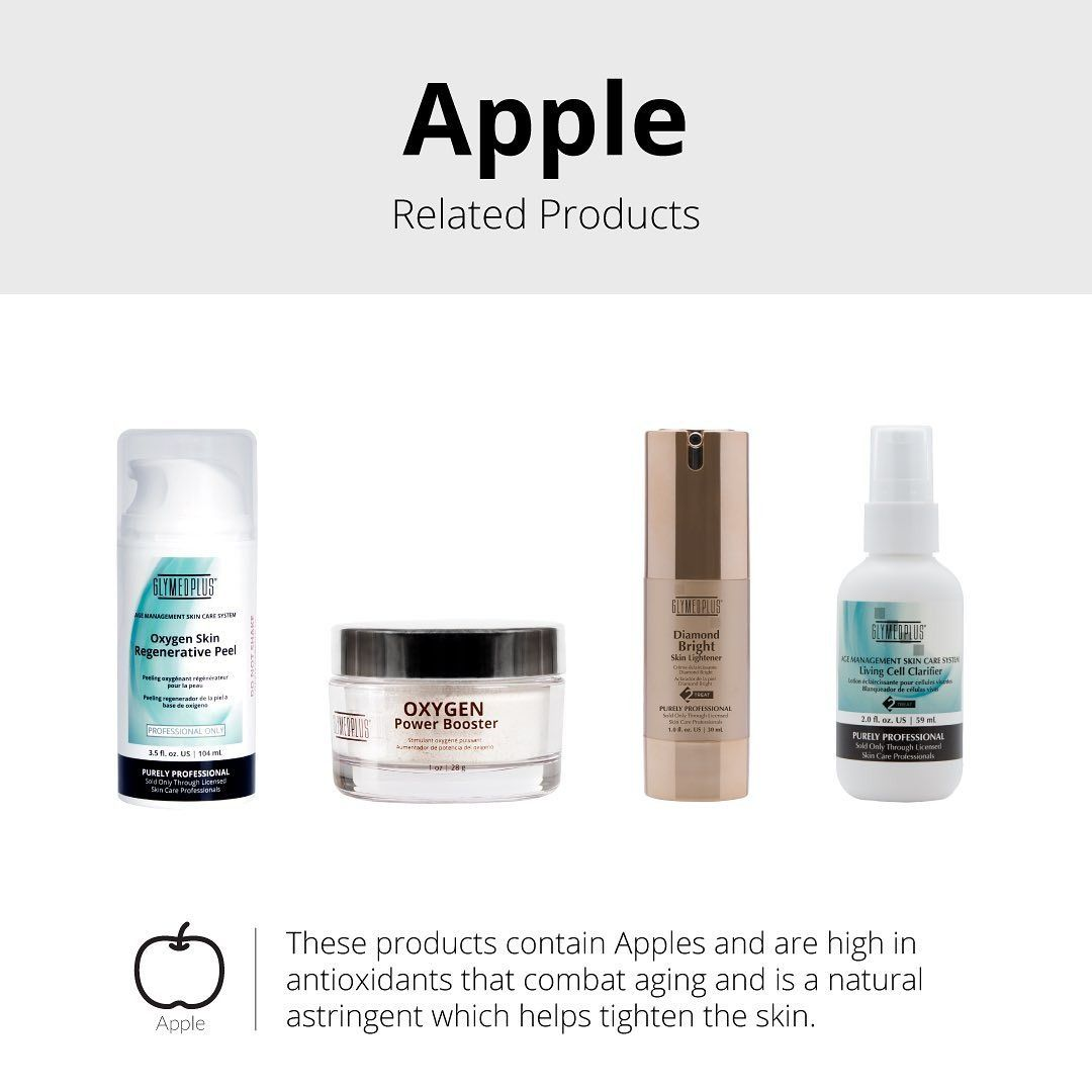 Have You Ever Wondered What Apples Contribute To Skincare Glymed Plus Peeling Skin Skin Care Shampoo Bottle