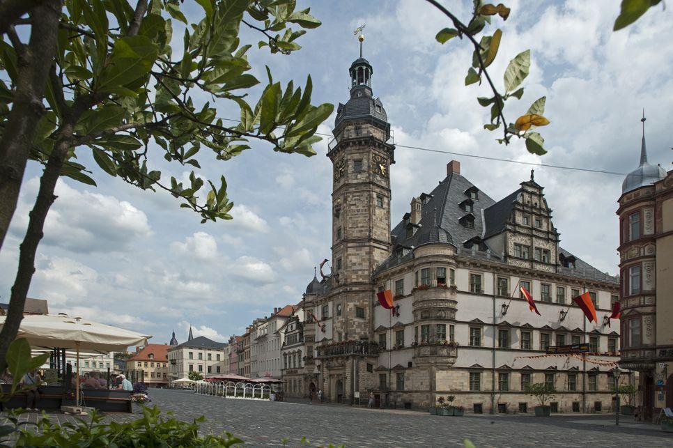 Rathaus Altenburg Town hall Altenburg Schöne deutsche