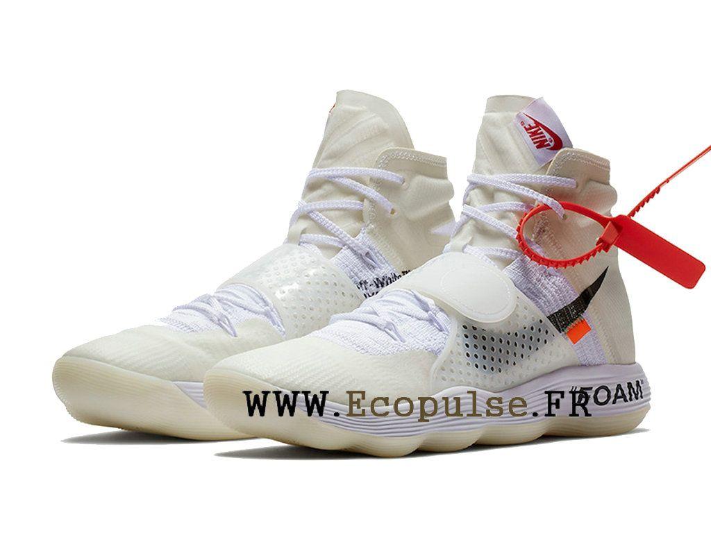 meet 21298 b3b9b Nouveau Off-White x Nike Hyperdunk 2018 Prix Chaussure de BasketBall Pas  Cher Pour Homme