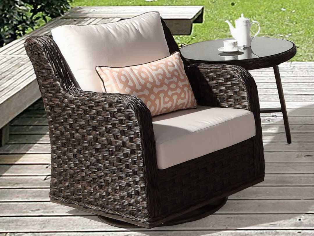 Cool South Sea Rattan Patio Done Quick Grand Isle Wicker Swivel Pabps2019 Chair Design Images Pabps2019Com