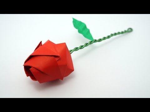 Origami tutorials by jo nakashima learn how to make awesome origami origami rose tutorial davor vinko for valentines day mightylinksfo