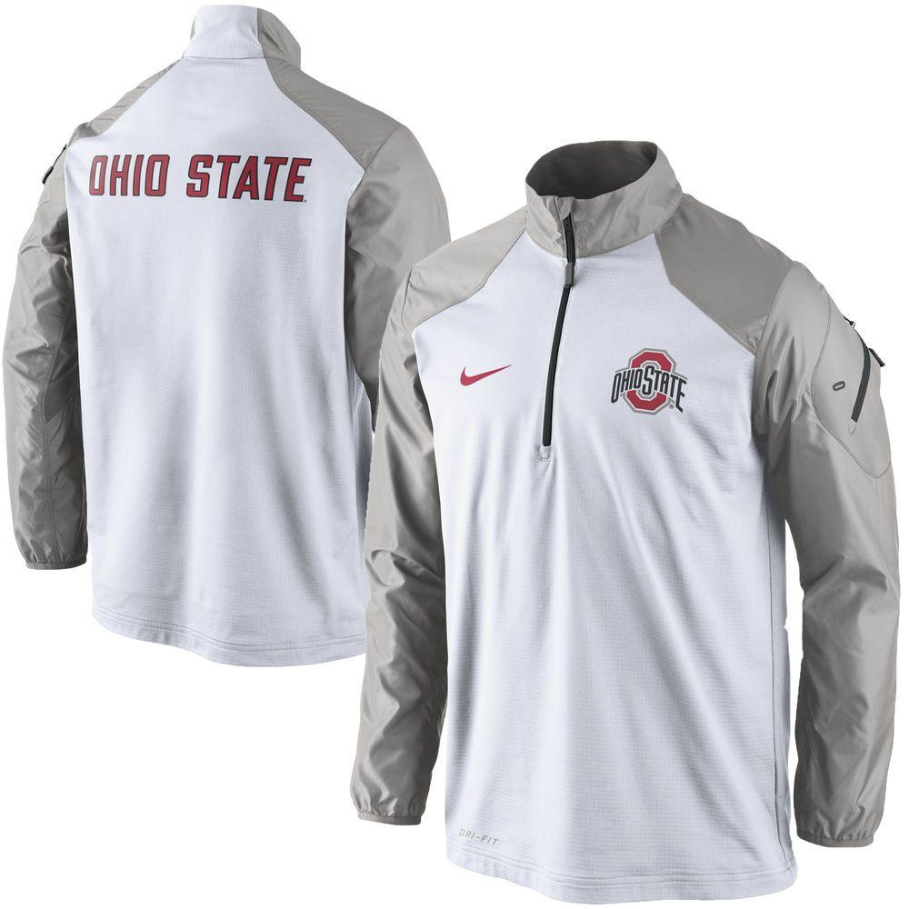 Ohio State Buckeyes Nike Coaches Sideline Half Zip