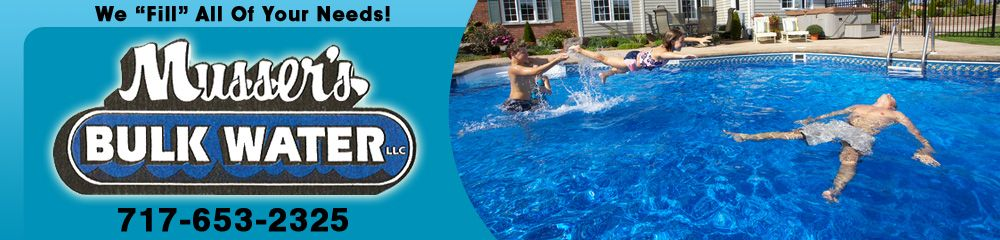 Musser S Bulk Water Services Manheim Pa Pool Water Outdoor