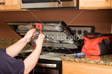 Appliance On A Kitchen Range Appliance Repair Stove Repair Appliance Repair Service