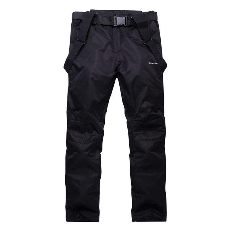 Winter Men/'s Ski Pants Warm Cargo Waterproof Skiing Snowboard Snow Trousers-Pant