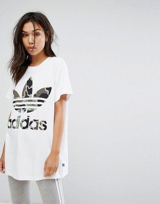 da536bf425a6 Discover Fashion Online T Shirt And Shorts, Adidas Camo, Asos Adidas, Adidas  Shirt