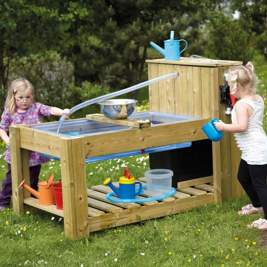 Outdoor Water Pump Station Table In 2020