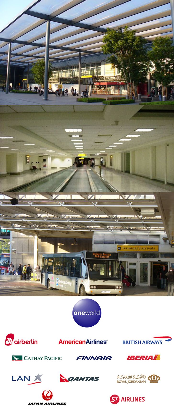 Heathrow Airport Terminal 3 Information and Guides