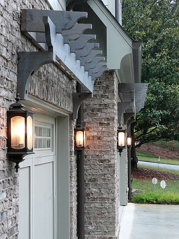 Garage Pergola Doors Could Do This Instead Of More Expensive Look Of Carriage Style Garage