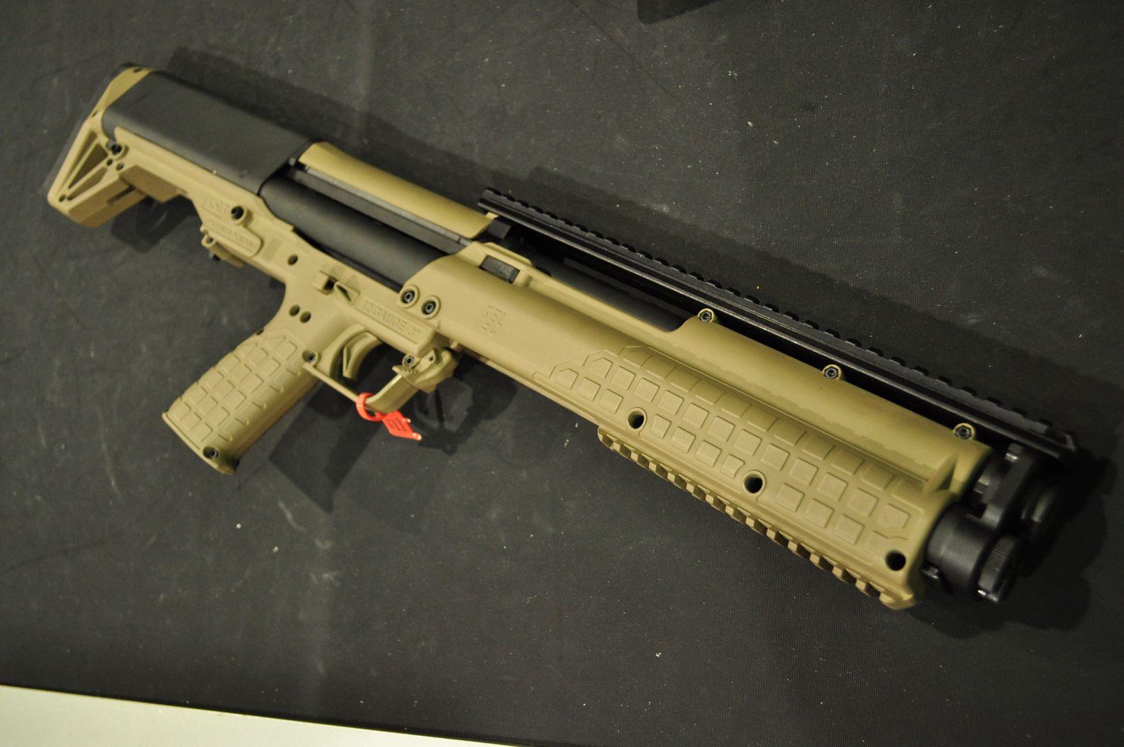 Kel_Tec_KSG_Dark_Earth_Bullpup_Shotgun Guns & Gear