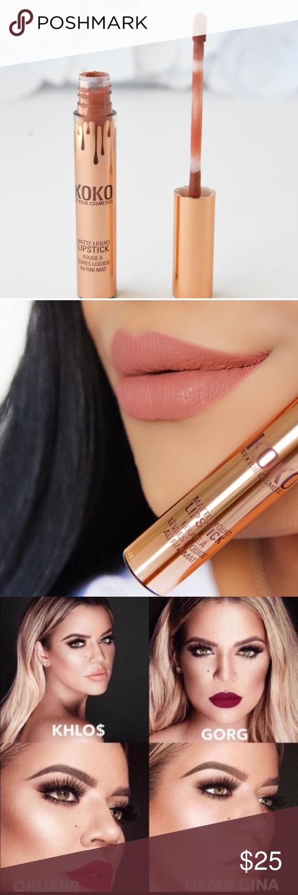 Kylie KOKO Kollection Matte Liquid Lip in KHLO$💋 | Kylie