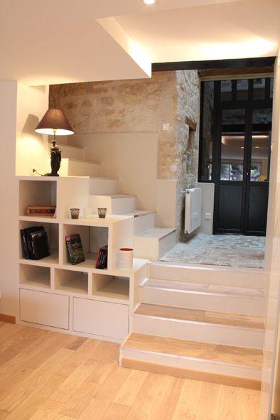 Escalier Meubles, Escaliers et Peindre - porte de placard sous escalier