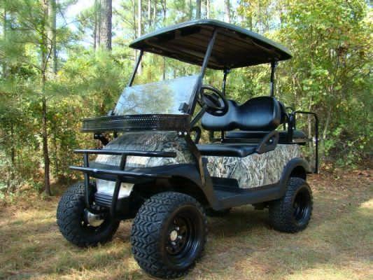 The Judge 4 Wheel Drive Electric Club Car Golf Cart 4 Wheel Drive