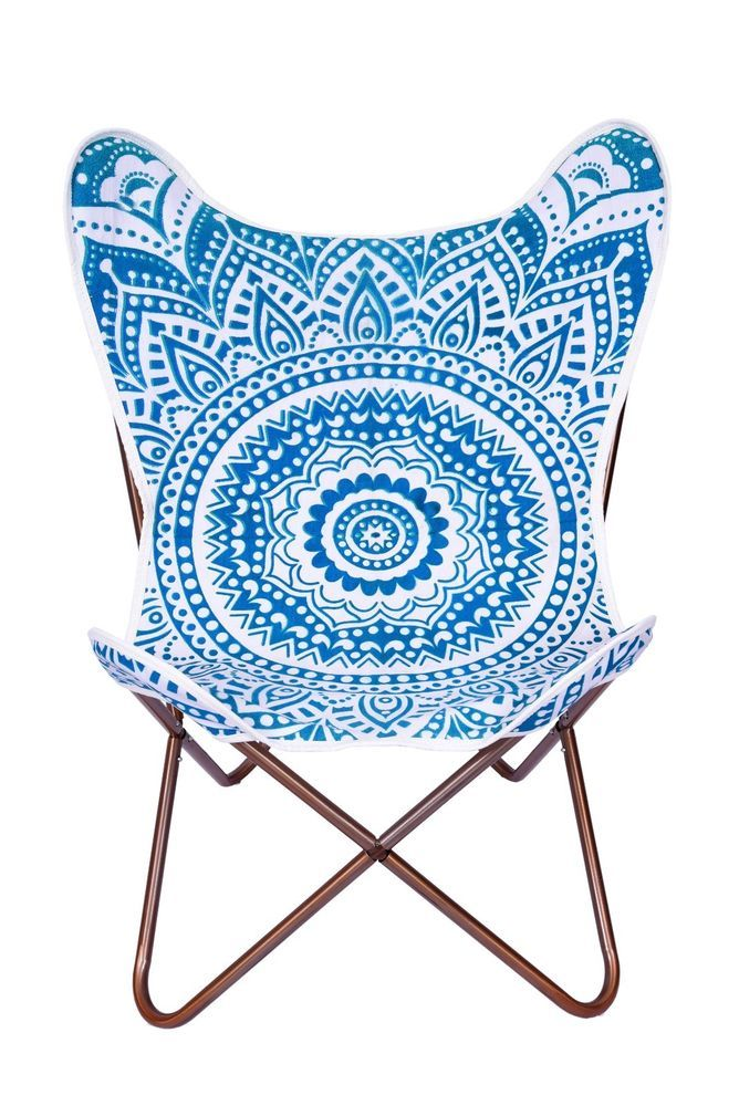 Replacement Cover For Butterfly Chair Mandala Tapestry With Canvas Backing  #ganeshakali