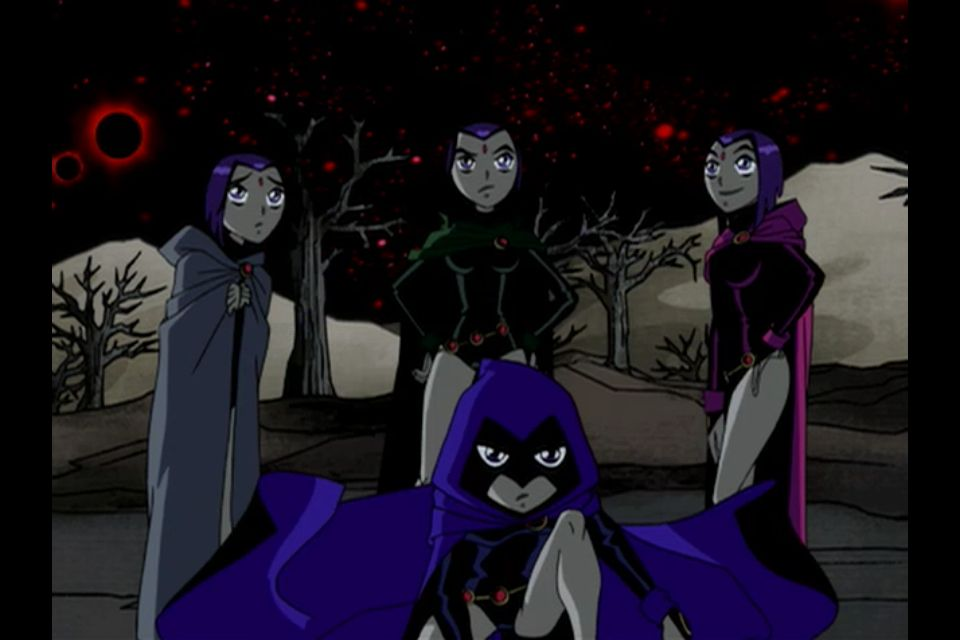 Raven Mind - Episode 6 - Nevermore  Raven  Teen Titans -6312