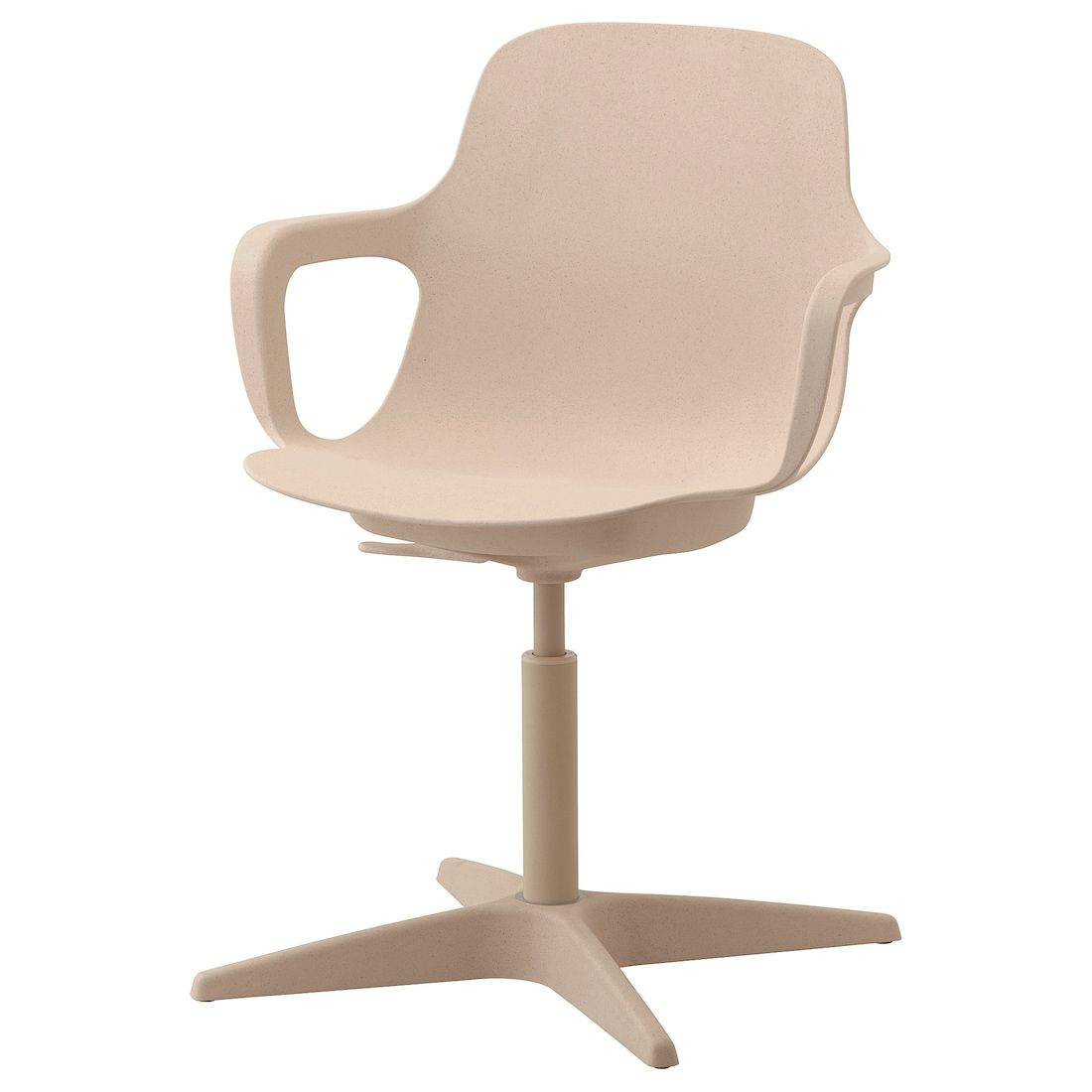 Odger Swivel Chair White Beige Ikea Swivel Chair Chair Office Chair