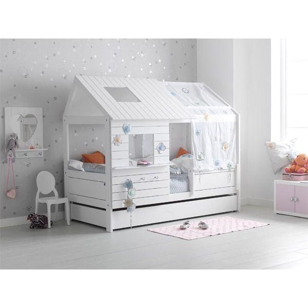 lifetime silversparkle h tte niedrig weiss in 2019 kinderzimmer kinderzimmer kinder bett. Black Bedroom Furniture Sets. Home Design Ideas