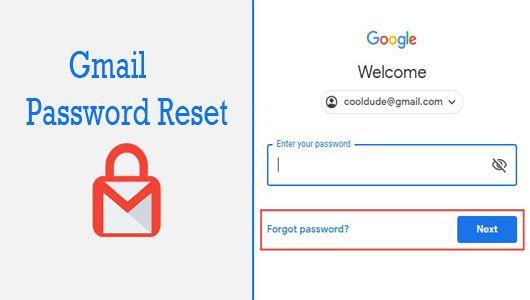Gmail Password Reset Gmail App Gmail Password Recovery