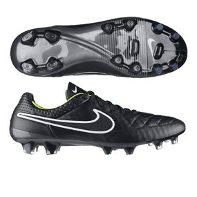 reputable site 3c826 c84cf 159.95 - Nike Tiempo Legend V FG Soccer Cleats (Black/Volt ...