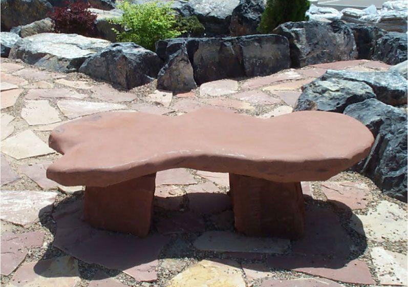 Stone Bench Natural Rock Designs | Garden Bench | Pinterest | Stone ...