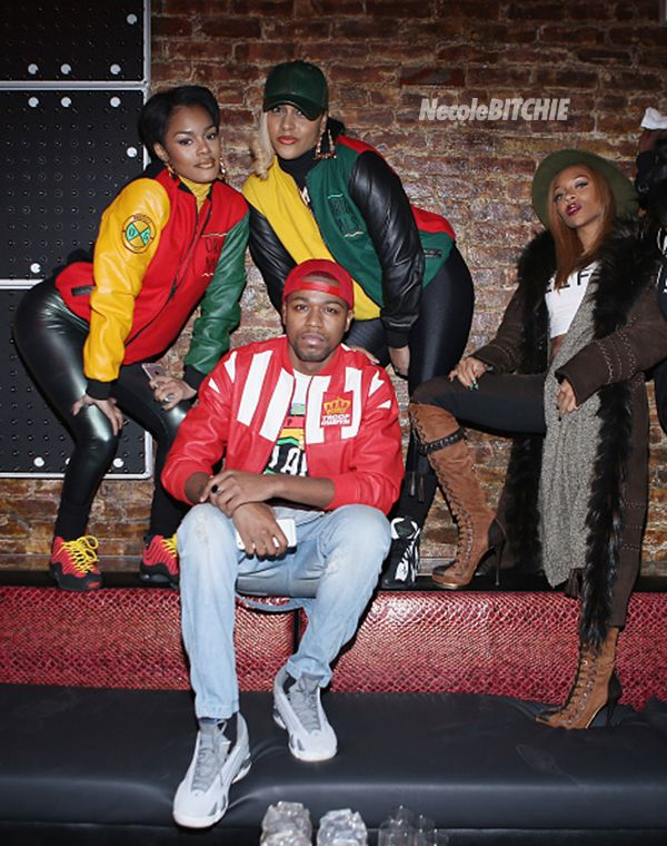 celebrities attend fabolous �90s themed birthday bash