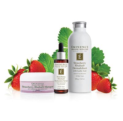 Strawberry Rhubarb Dermafoliant Eminence Organic Skin Care In 2020 Eminence Organic Skin Care Organic Skin Eminence Organics