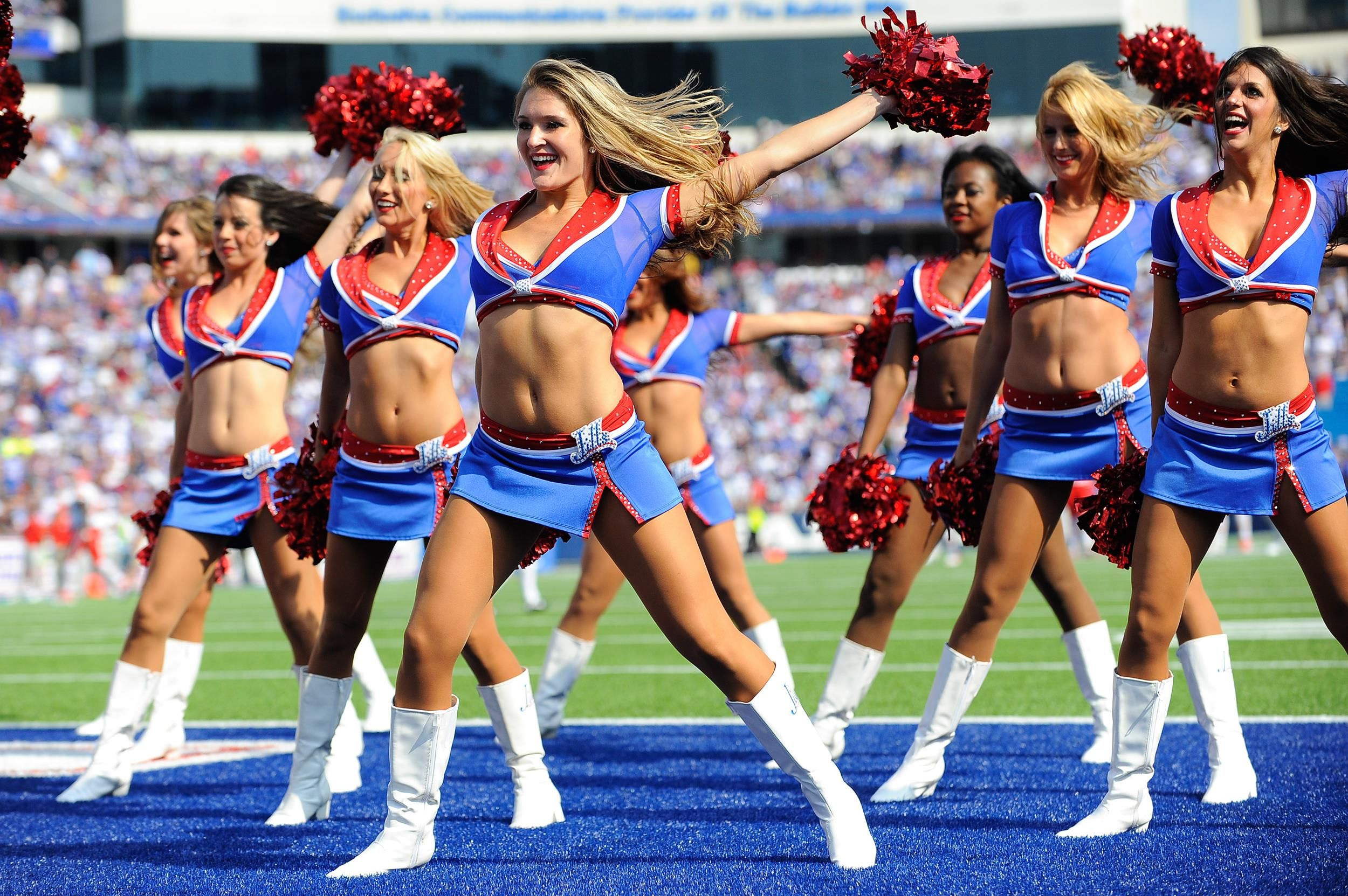Buffalo Bills Nfl cheerleaders, Football cheerleaders