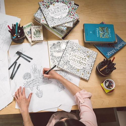 Why This Beautiful Coloring Book For Adults Is A Major Best Seller