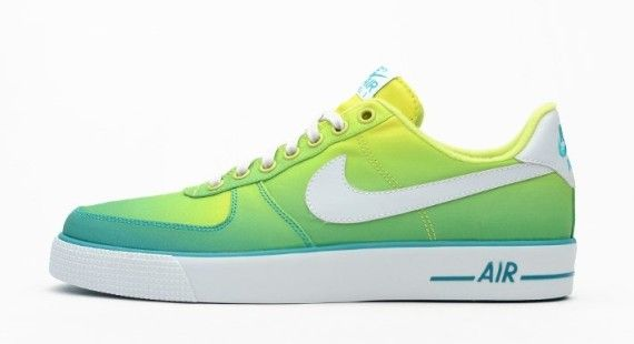 nike air force 1 ac br qs (turbo verde / bianco) anojin johnbosco