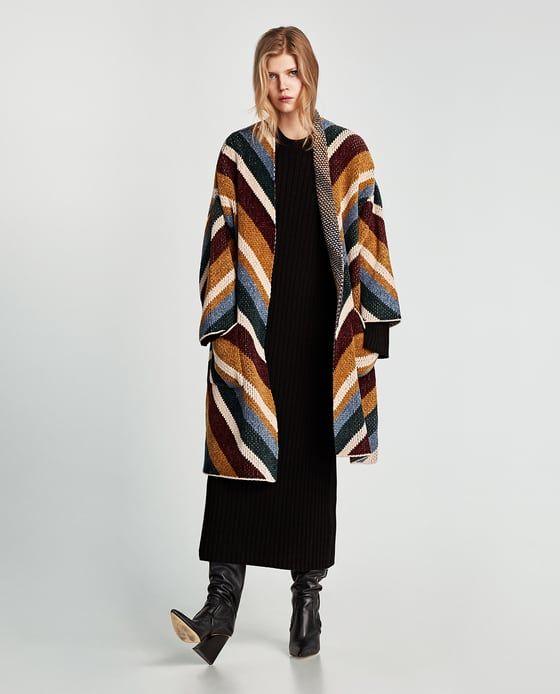 Wishlist Oversized Clothes Coat Image Zara Jacquard 1 From Of qE640