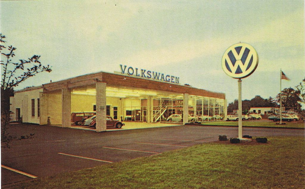 Pin By Kevin Putz On Old Vw Dealerships Vw Dealer Vw