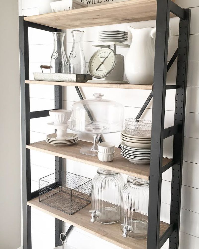 6 creative storage solutions for a kitchen with no upper cabinets kitchen storage solutions on farmhouse kitchen no upper cabinets id=92746