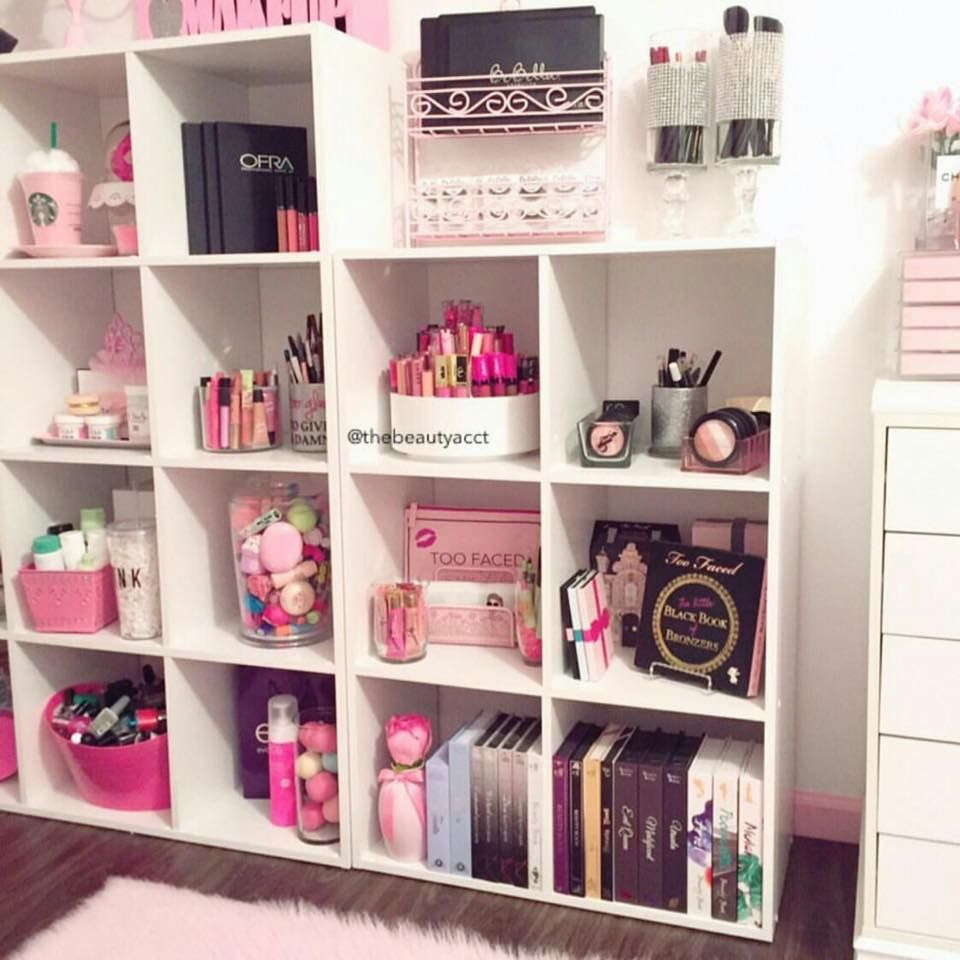 Makeup Room Ideas room DIY (Makeup room decor) Makeup Storage Ideas For Small Space - Tags makeup room ideas makeup room decor makeup room furniture ... & Pin by Luciana B on Oh so pretty ( Makeup) | Pinterest | Makeup ...