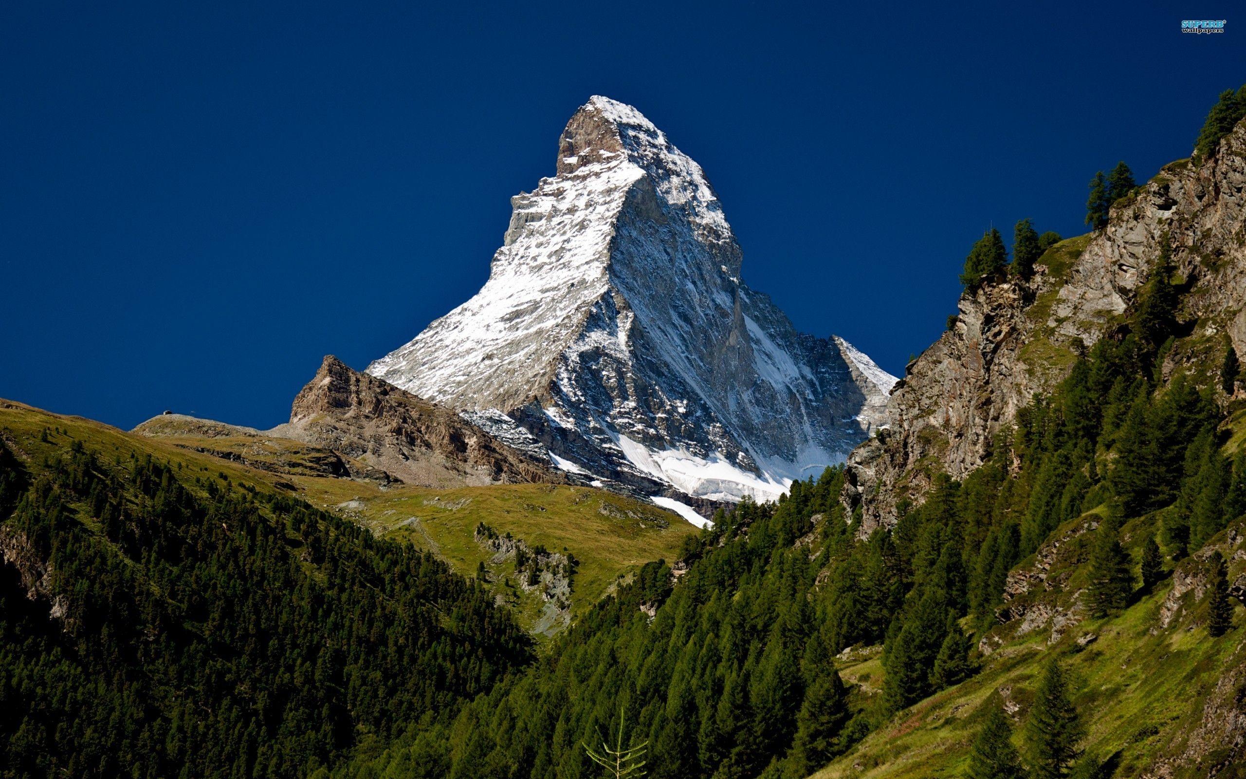 Matterhorn Mountain 2560 1600 Hd Landscape Landscape