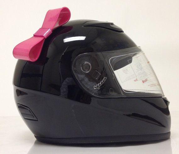 Pink atv helmet