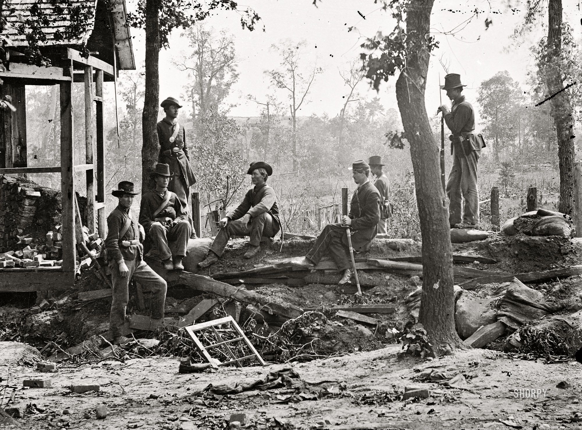 Shorpy Historical Photo Archive Old Dixie Down