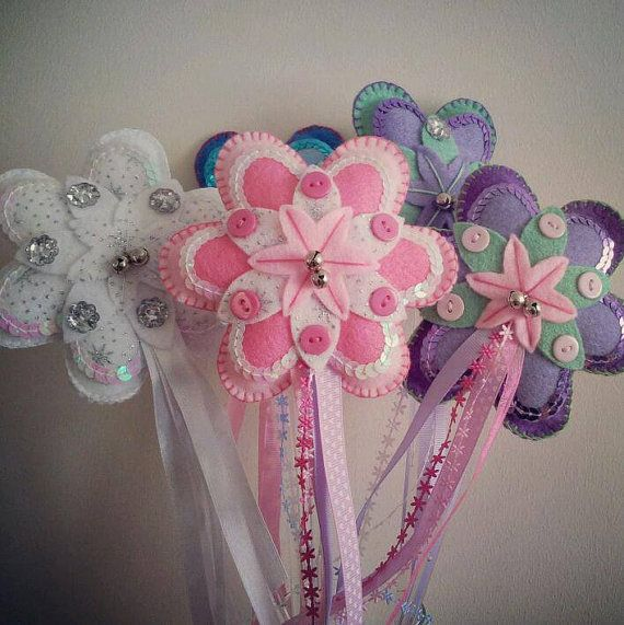 These would be cute wands for a princess birthday party