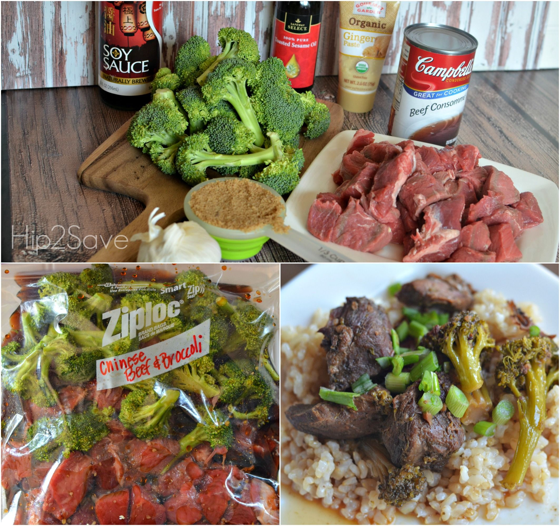 5 Slow Cooker Freezer Bag Meals Including Chinese Beef Broccoli Creamy Italian En Sausage With Peppers Onions Cilantro Lime