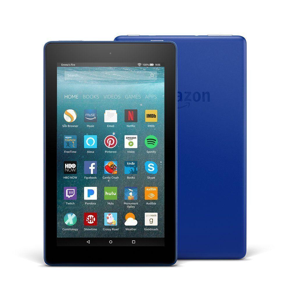 Allnew fire 7 tablet with alexa 7 display 8 gb blue