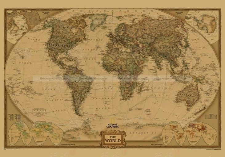 Maps vintage world map poster large blog with collection of vintage world map poster large adeecfbbbefbe gumiabroncs Images