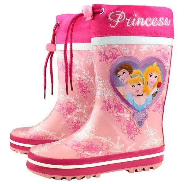 ab78d36418 Botas de agua para niña, princesas Disney | Zapatos para niñas ...