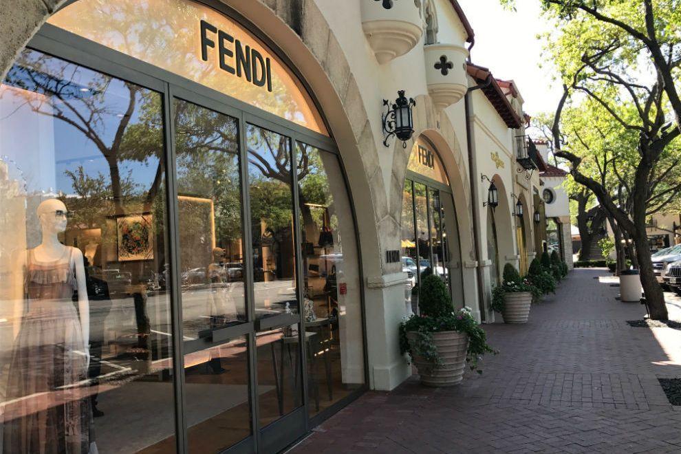 c507c4315d1 Highland Park Village Shopping in Dallas  Fendi