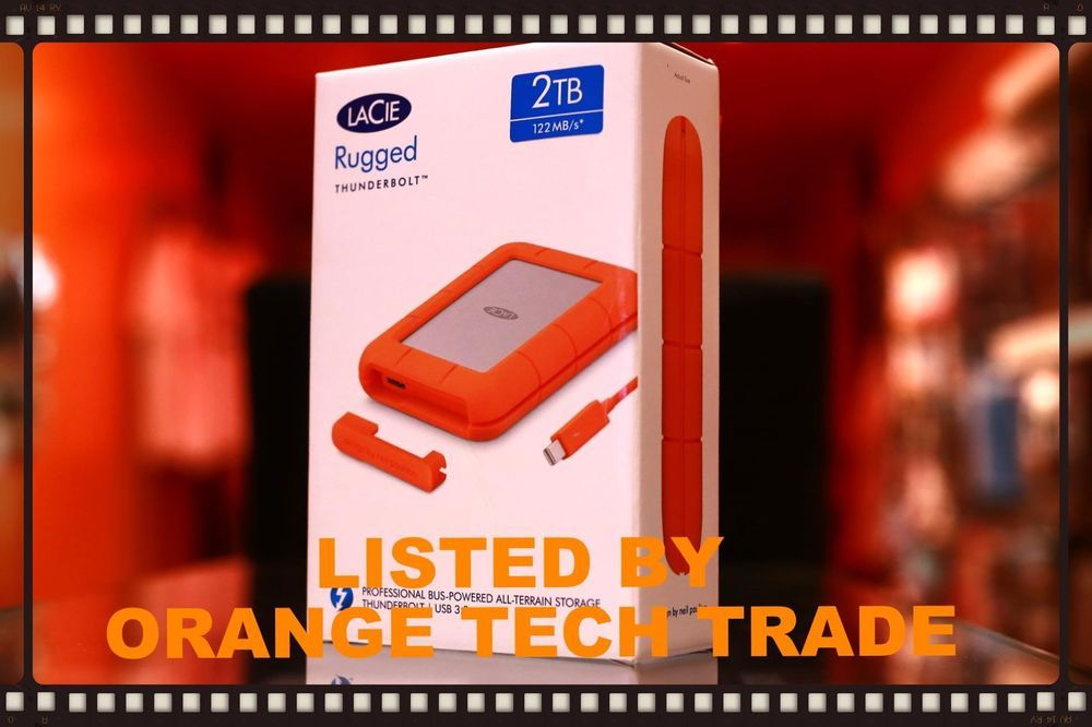 Lacie Rugged 2tb External Hard Drive Thunderbolt Usb 3 0 Portable Lac9000489 External Hard Drive Usb Hard Drive