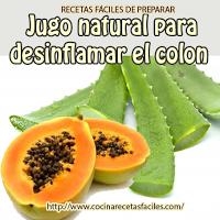 jugos naturales para desinflamar el colon irritable