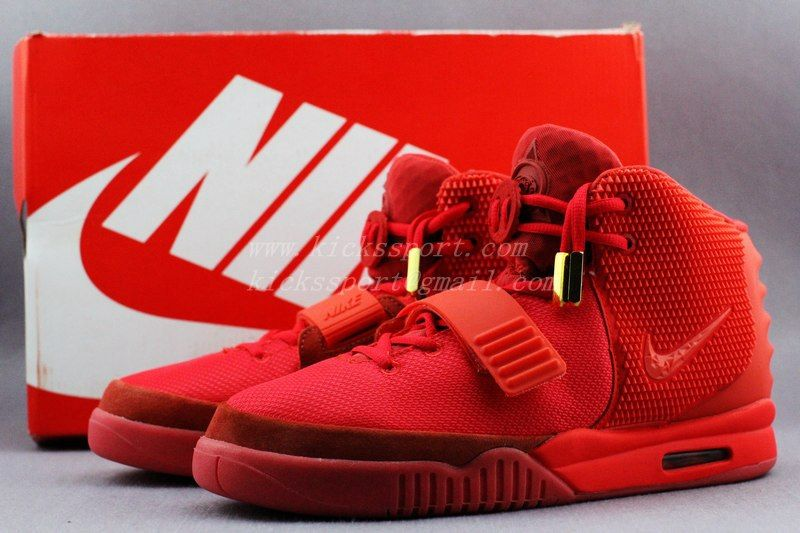 SUPER PERFECT NIKE AIR YEEZY 2 RED OCTOBER GLOW IN THE DARK FINAL VERSION  http: