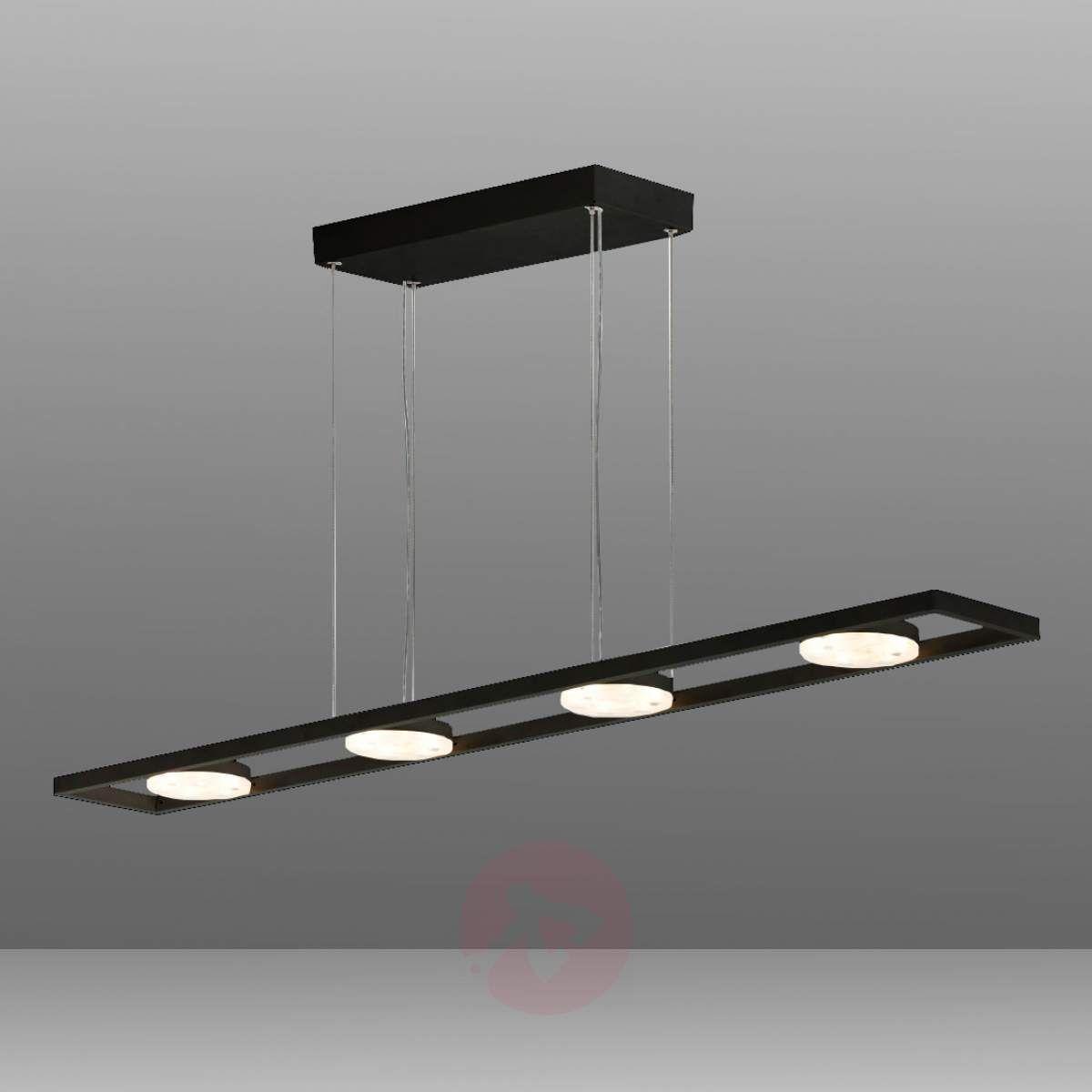 lampy wiszące do kuchni czrne