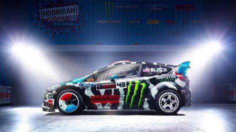 Ken Block Rally Car Wallpaper Autos Ford Fiesta Autos Y