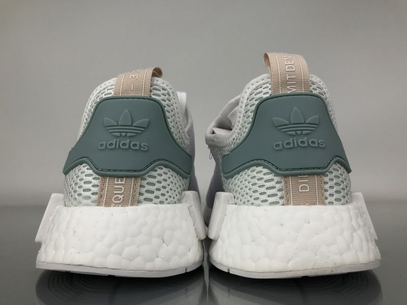 "1de29fbb93aeb Adidas NMD R1 Mesh ""Tactile Green"" BY3033 Men Women Ladies Girls Real Boost  for Sale5"