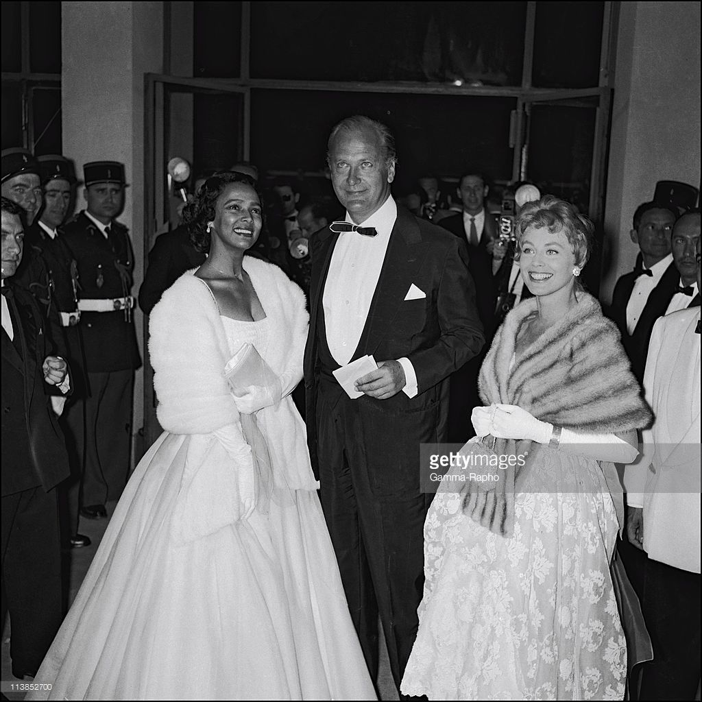 Image result for Dorothy Dandridge Cannes Film Festival in the 1950s