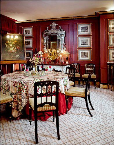 At Home With Duane Hampton   The New York Times U003e Home U0026 Garden U003e Slide